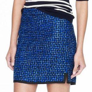 J. Crew 'Postage Stamp' Tweed Mini Skirt